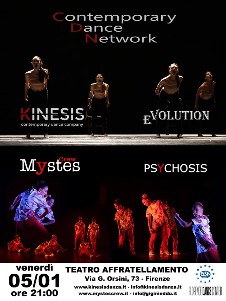 Mystes & Kinesis – Contemporary Dance Network
