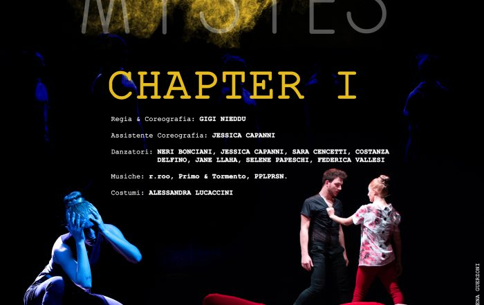 Mystes - Chapter I - Locandina frontale - Florence Performing Arts Festival