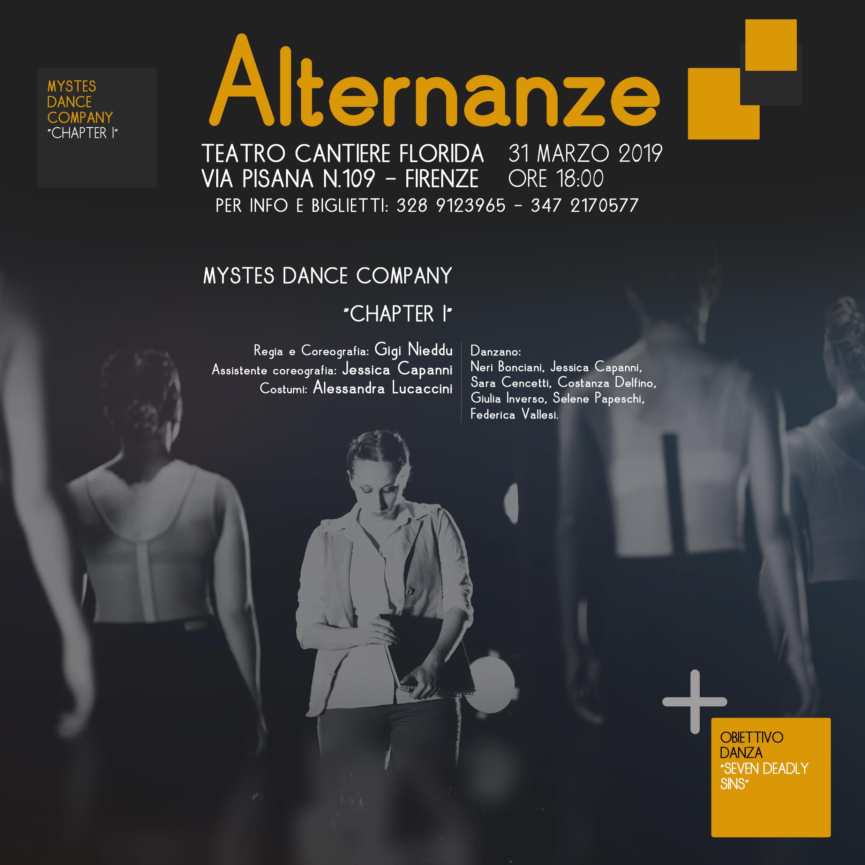 Mystes & Obiettivo Danza – Alternanze (31 Marzo)
