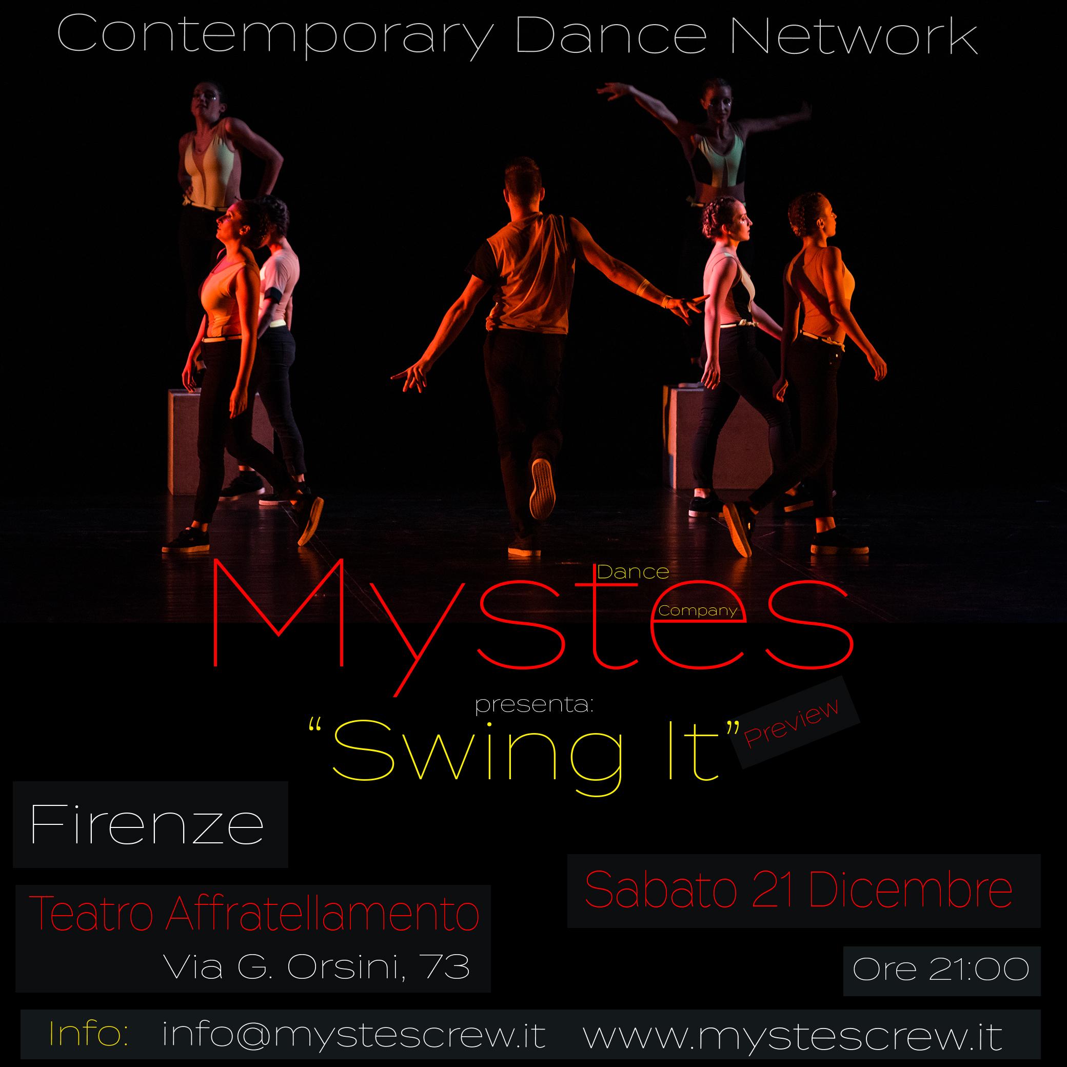 Mystes al Contemporary Dance Newtwork 2020